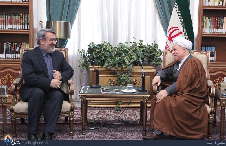 عکس| دیدار وزیرکشور با رفسنجانی