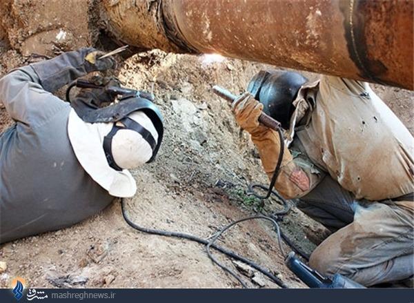 چشمه بنزین در خرم آباد!+تصاویر