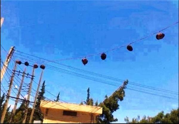 سرهای آویزان شده در سوریه+عکس