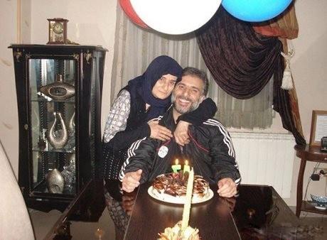 سید جواد هاشمی و مادرش + عکس