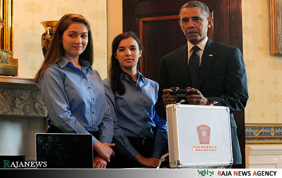 تصاویر| بازی های مهیج اوباما در کاخ سفید