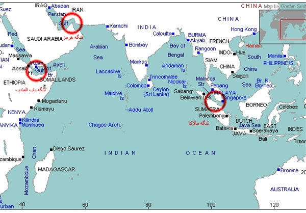 جزئیاتی از مواجهه ناوگروه ارتش ایران و آمریکا در اقیانوس آرام