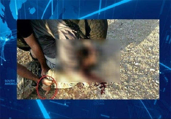 داعش عضو ارشد احرار الشام را سر برید + عکس