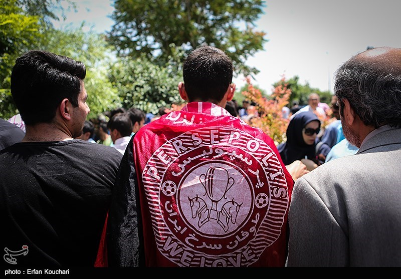 یک پرسپولیسی در سالگرد ناصر حجازی + عکس