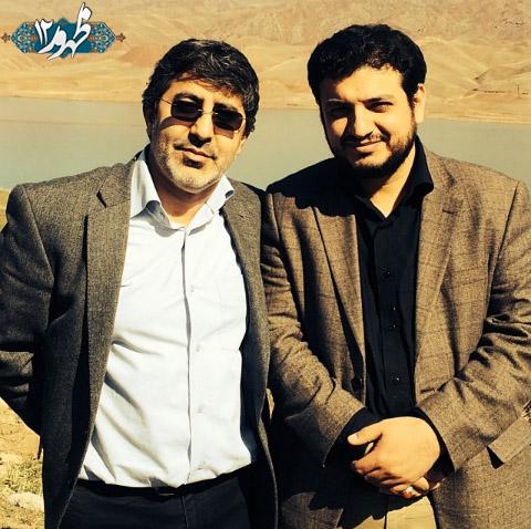 استاد رائفی پور و محمدرضا طاهری در لب آب + عکس