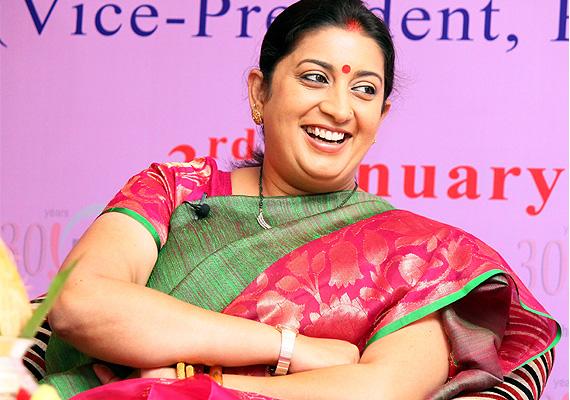 یک زن ایرانی وزیر منابع انسانی هند شد+تصاویر