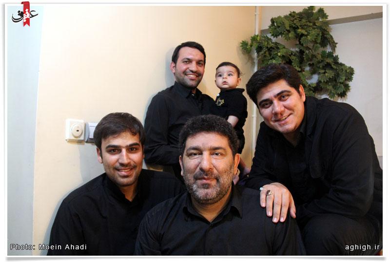 عکس یادگاری سعید حدادیان پس از هیات
