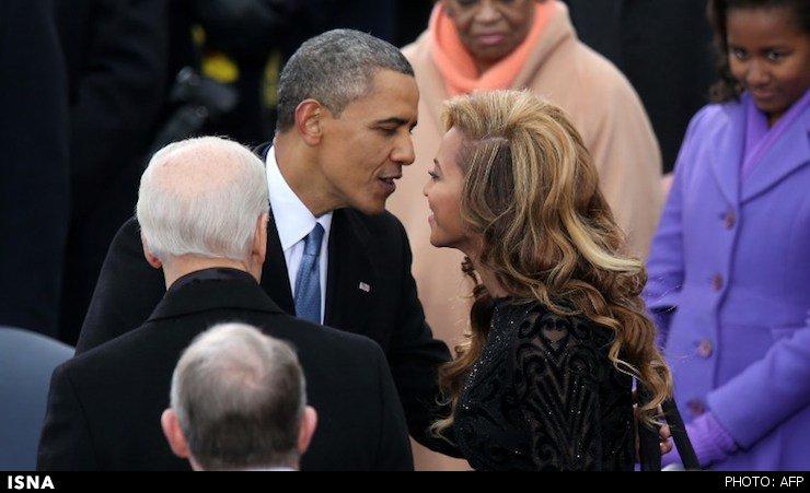 افشای رابطه مخفیانه اوباما با یک خواننده + عکس
