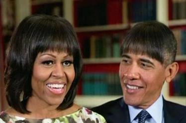 شوخی های اوباما در میهمانی شبانه در کاخ سفید!
