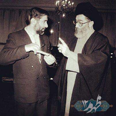 تصویری دیده نشده از میرحسین موسوی و آیت الله خامنه ای