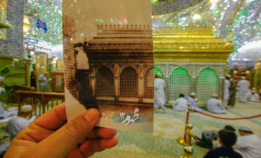 ایده جالب با ضریح حرم امام حسین(ع) + عکس