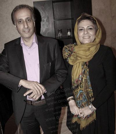 حیاتی گوینده معروف خبر در کتار همسرش + عکس