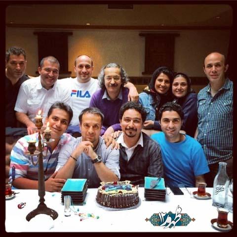 جشن تولد احمد مهران فر + عکس