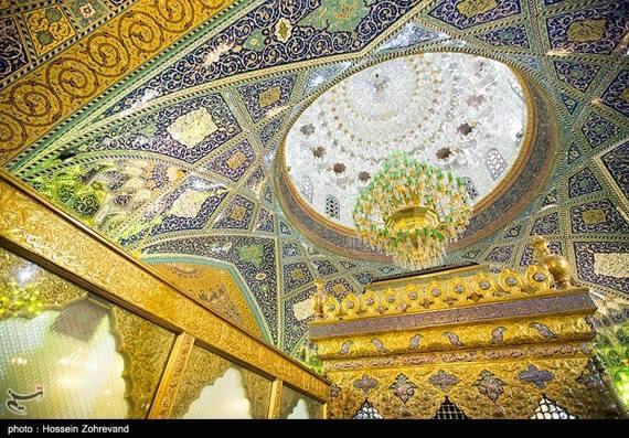 تصاویری زیبا از حرم حضرت رقیه