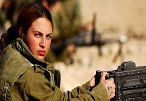 گردان نظامی زنان اسرائیلی + تصاویر
