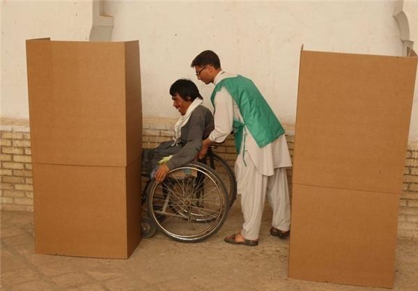 تصاویر|دور دوم انتخابات ریاست جمهوری درافغانستان