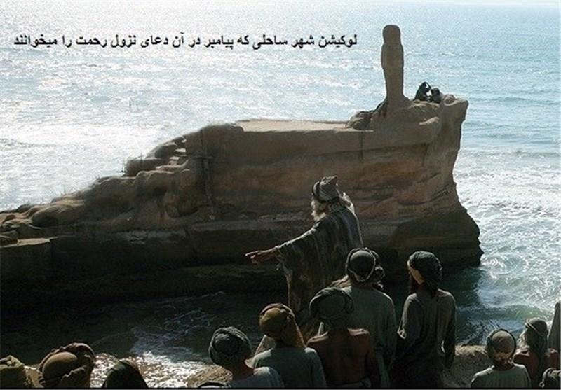 تصاویر لو رفته از فیلم محمد رسول الله