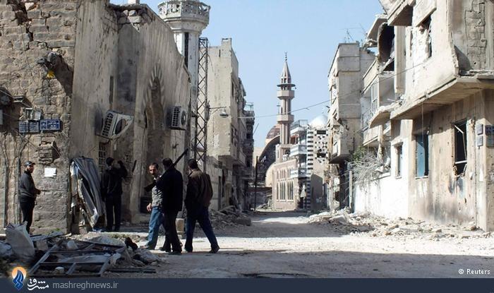 کدام شهرهای سوریه در دست تروریست ها قرار دارد؟