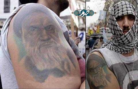خالکوبی امام خمینی در آرژانتین وارد بازار شد + عکس
