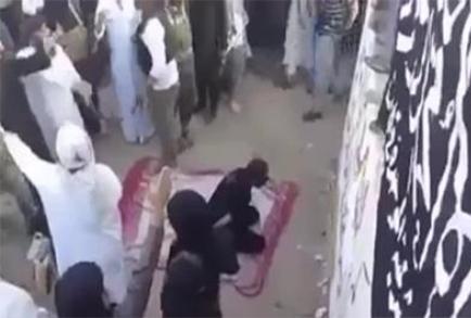 اعدام دردناک نوجوان سوری در ملا عام+فیلم