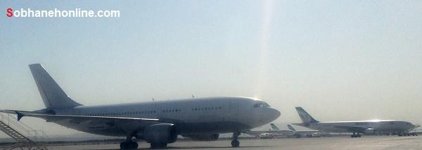 هواپیما چنگیزخان مغول در ایران + عکس