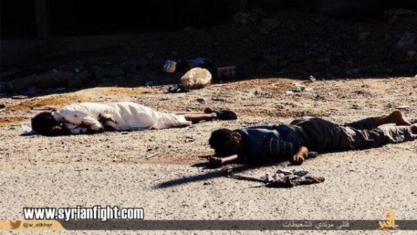 عکس های هولناک از کشتار وحشیانه 700 نفر در دیروالزور