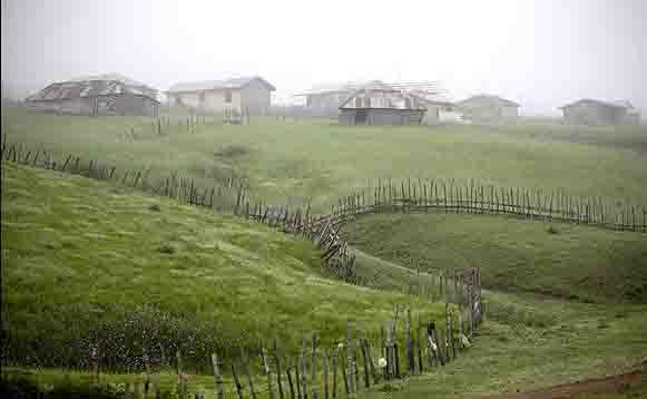 روستایی که هیچ گونه امکانات رفاهی نمی خواهد+تصاویر