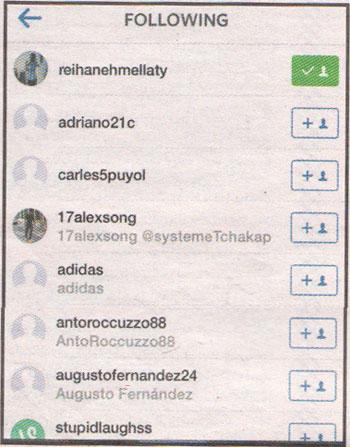 لیونل مسی یک ایرانی را لایک کرد