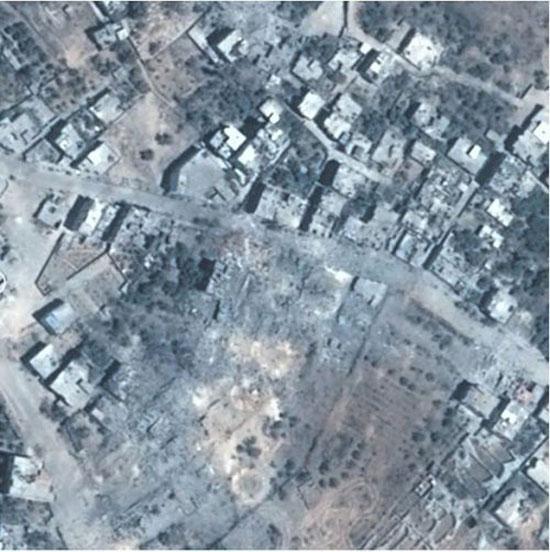 غزه قبل و بعد جنگ+تصاویر