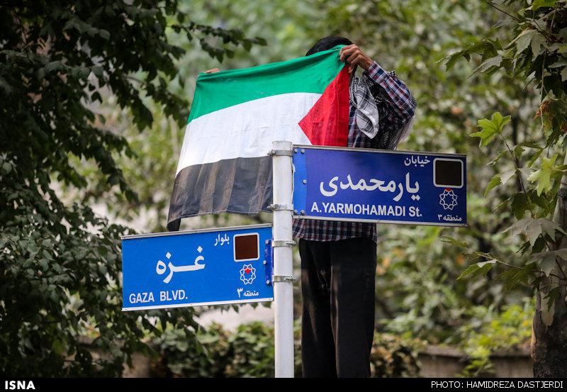 بلوار غزه+عکس