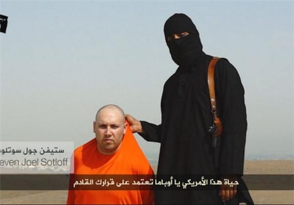 سربریدن خبرنگار آمریکایی توسط داعش+تصاویر