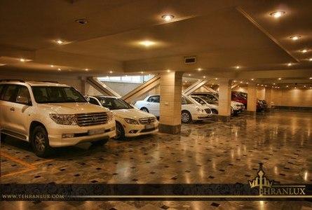 یک واحد مسکونی گران قیمت در شمال تهران+عکس