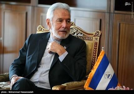 وزیر خارجه نیکاراگوئه که لباس به سبک ظریف پوشید+عکس