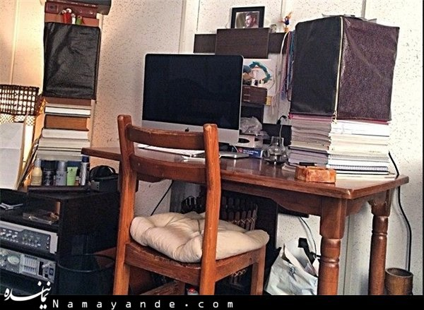 عکس یک شهید در اتاق بنیامین+عکس