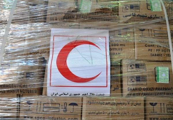 کمکهای جمهوری اسلامی ایران در دست اهالی غزه+عکس