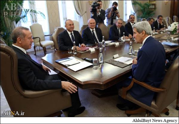 جایگاه صندلی کری در دیدار اردوغان+تصاویر