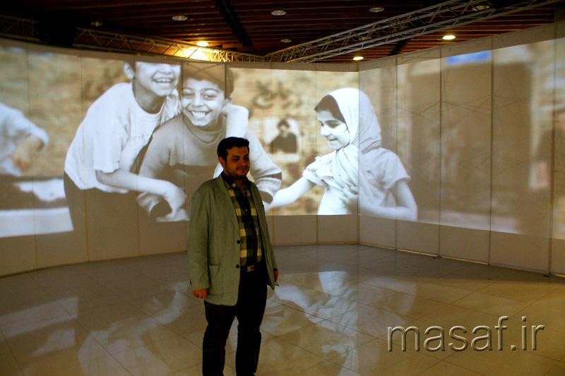 گزارش تصویری از حضور استاد رائفی پور در نمایشگاه رسانههای دیجیتال 93