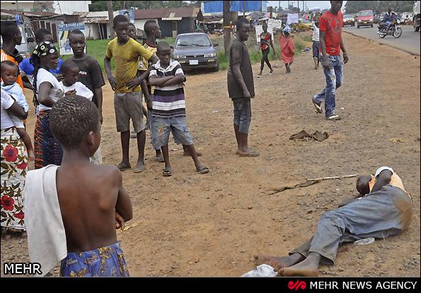 قتل و عام ویروس ابودلا در آفریقا + تصاویر