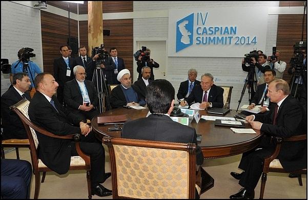 روحانی : دریای خزر باید سمبل همکاری ملتها باشد