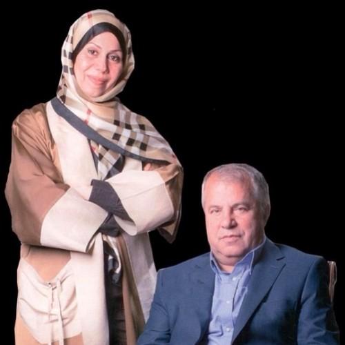 علی پروین و همسرش + عکس
