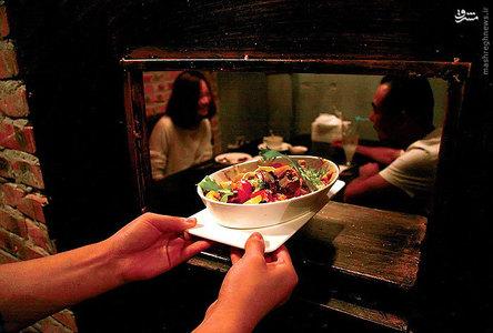 رستوران در سیاه چال+تصاویر