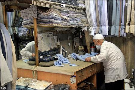 بازار لباس روحانیت در قم+تصاویر