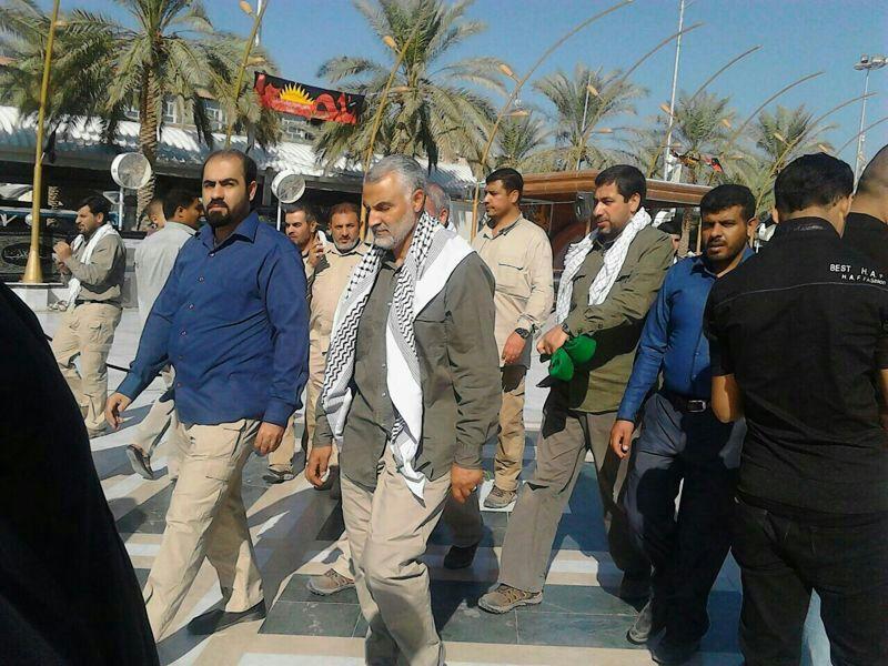 سردار قاسم سلیمانی در کربلا+عکس