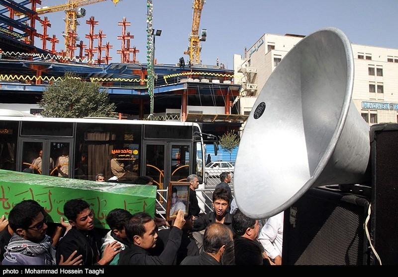 گزارش تصویری از تشییع پیکر مدافعان حرم
