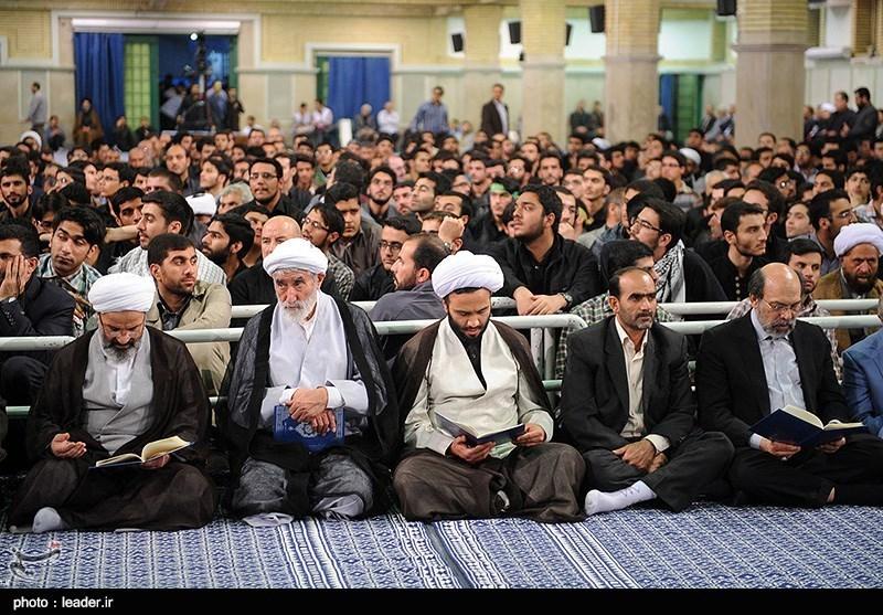 مجلس یادبودآیت الله کنی با حضور رهبری+تصاویر
