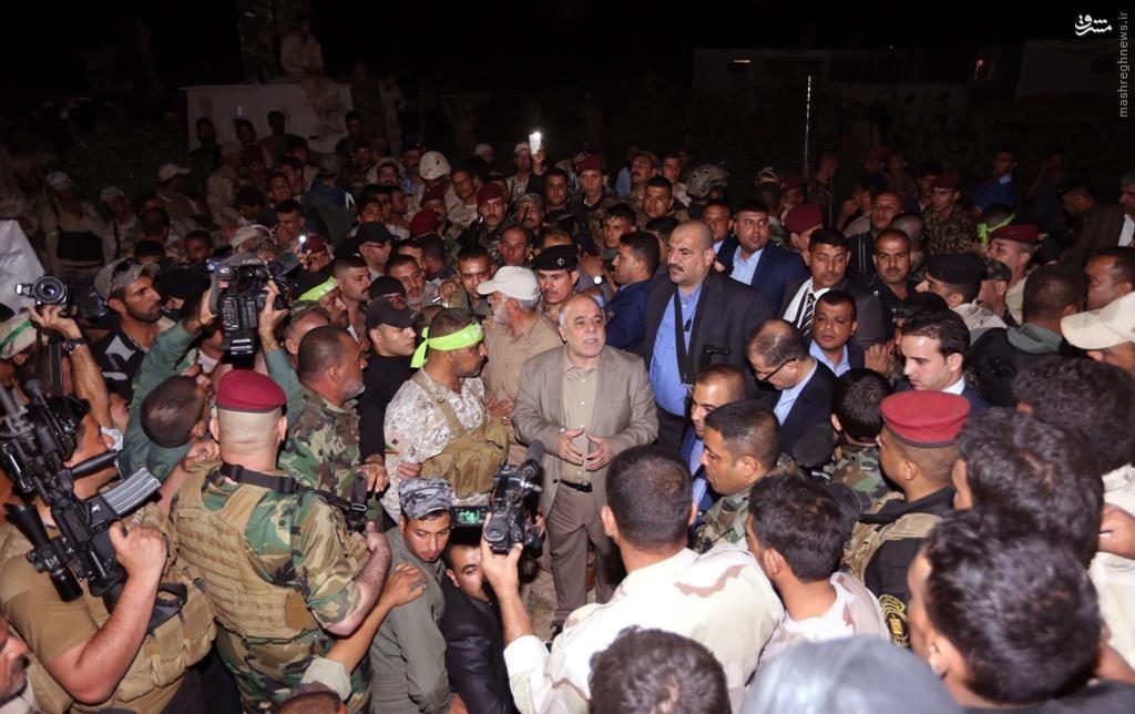 نقش سپاه در عملیات های ارتش عراق علیه داعش+تصاویر