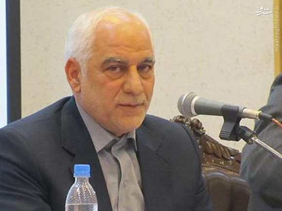 مرگ نامزد انتخابات اصناف در حین سخرانی+عکس