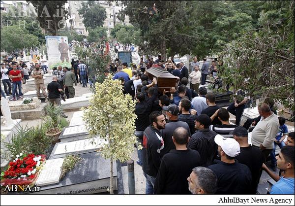 «سرنا شیم» در لبنان به خاک سپرده شد+تصاویر