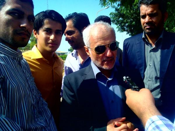 گزارش تصویری از سخنرانی دکتر حسن عباسی در دانشگاه جیرفت