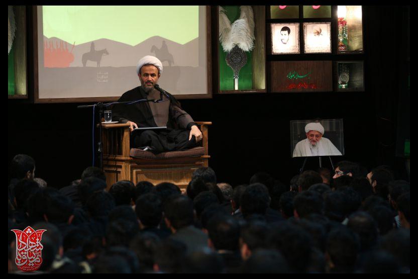 سخنرانی علیرضا پناهیان محرم 93(هیات میثاق با شهدا)
